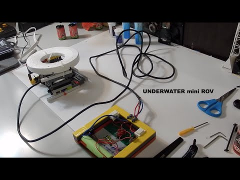 Mini ROV (DIY underwater submarine