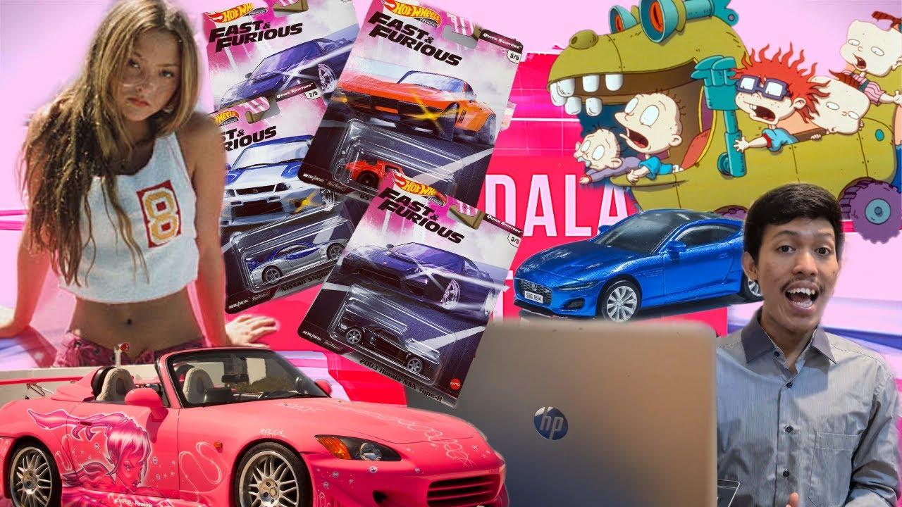 Diecast dalam berita | Honda S2000 Suki | Hot wheels fast n furious premium Quick Shifter | reptar