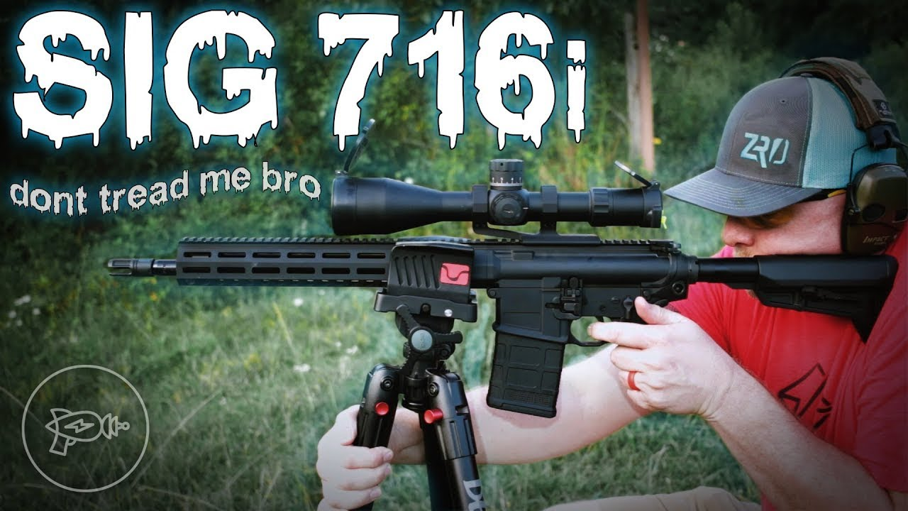 AR-10 Outta 10? 🤔 Sig Sauer 716i TREAD! [Review]