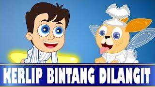 Kerlip bintang dilangit   Twinkle Twinkle Little Star in Indonesian   Lagu Anak Anak   Kumpulan