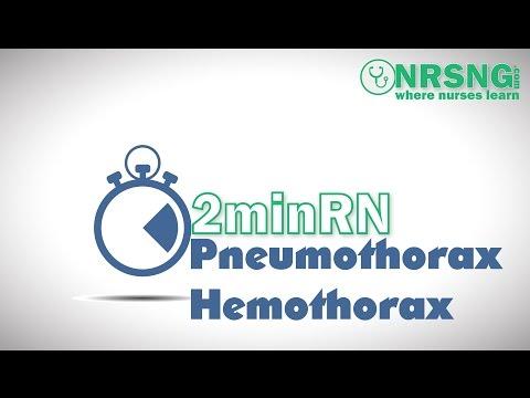 Пневмоторакс - лечение, симптомы, операция, первая помощь
