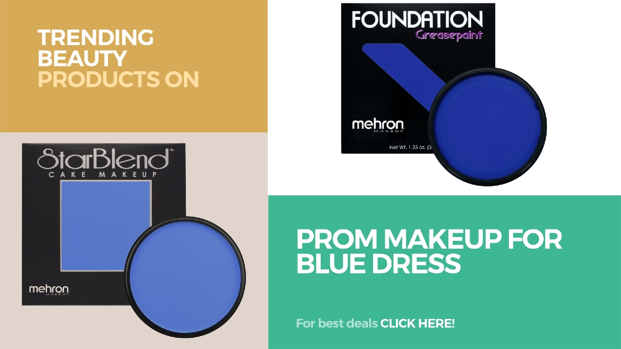 Prom Makeup For Blue Dress Trending Beauty Products On Amazon ...