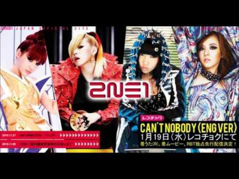 Cant Nobody EngVer キャント・ノーバディ 2NE1