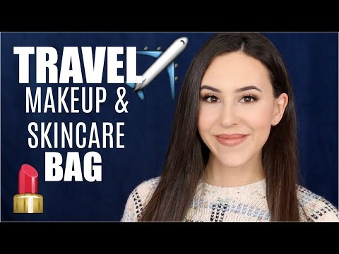 What's in my Travel Makeup & Skincare Bag || Beauty with Emily Fox