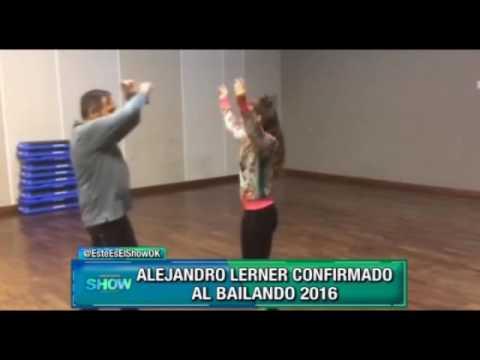 """Alejandro Lerner es otro de los confirmados para el """"Bailando 2016"""""""