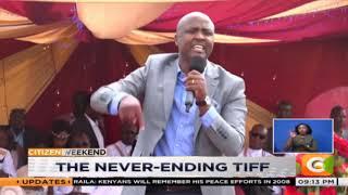 Raila tells Ruto to stop divisive politics