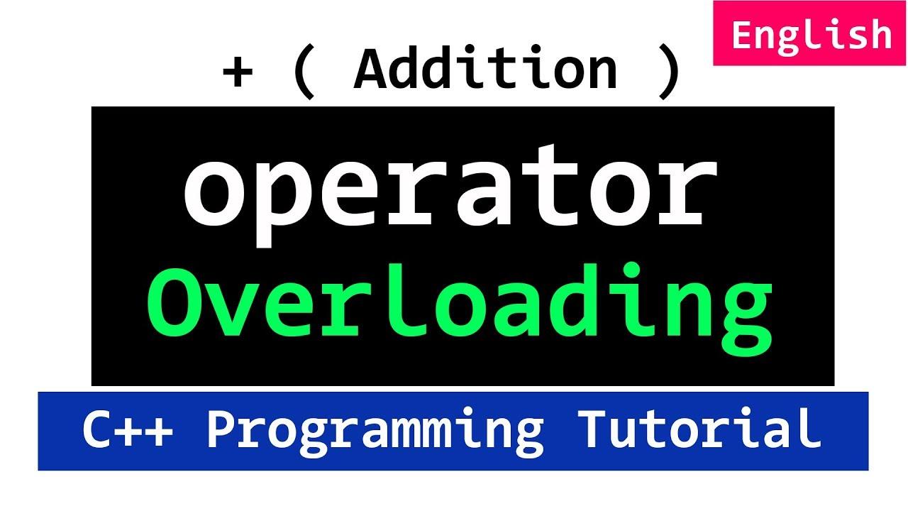 Advanced C++ Programming Video Tutorials