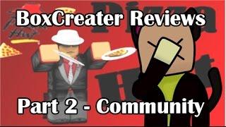 ROBLOX BoxCreater Bewertungen - Pizza Hut V3 Part 2
