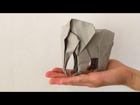 Elephants (Lionel Albertino) - OrigamiArt.Us   360x480