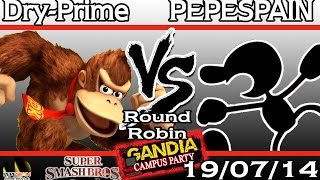 [Gandia Campus Party 2014] PEPE(SPAIN) (G&W) vs Dry-Prime (DK) - Round Robin