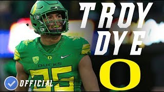 Troy Dye || Best LB In The Country || Official Oregon Highlightsᴴᴰ