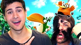 WE'RE IN THE ANGRY BIRDS MOVIE