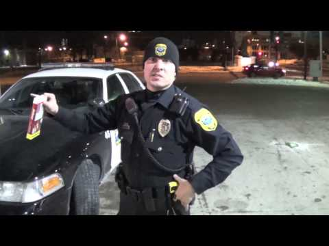 A night out with the Green Bay Police