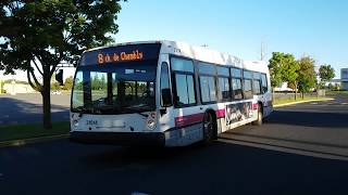 #99 RTL bus, outbound, Montreal South Shore - 1/2 (detour)