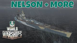 World of Warships Live Replay - Oct 15th 2018 - The Nelson and more