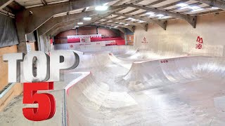 TOP 5 BEST SKATEPARKS IN THE WORLD!