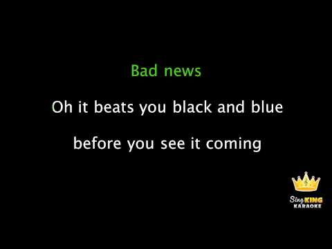 カラオケ - Bastille - Bad News - Karaoke