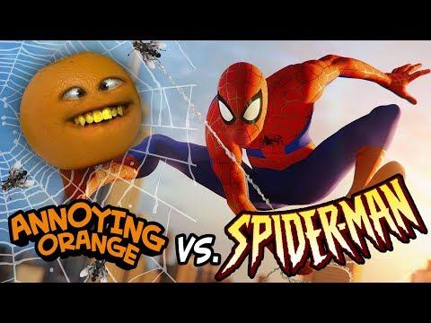 Annoying Orange vs Spider-Man