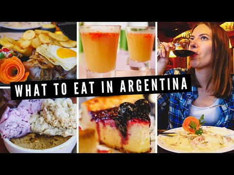 WHAT TO EAT in Argentina 😋 | Our ARGENTINIAN FOOD TOUR of San Martin de los Andes 🇦🇷