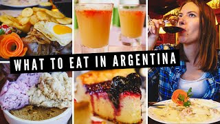 WHAT TO EAT in Argentina ? | Our ARGENTINIAN FOOD TOUR of San Martin de los Andes ??