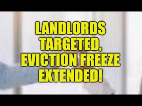 LANDLORDS TARGETED, EVICTION FREEZE EXTENDED AGAIN, WEALTH TRANSFER WORSENS, LOW WAGE JOBS DOMINATE