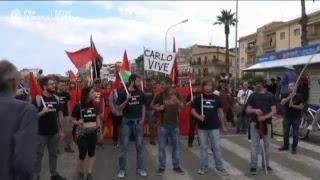 Акции протеста против саммита G7