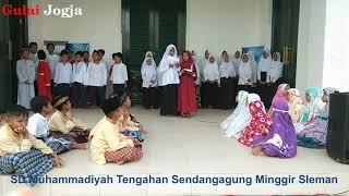 Penampilan Murid SD Muhammadiyah Tengahan di Loji Minggir Sleman DIY thumbnail