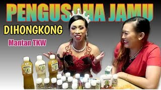 USAHA JAMUNYA MANTAN TKW HONGKONG GO INTERNASIONAL || IRA JAMU GOYANG VICTORY