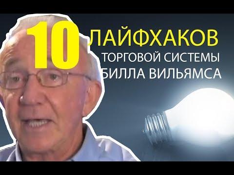 10 Лайфхаков торговой системы Билла Вильямса