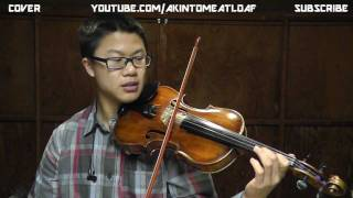 4/4 How to Play REBIRTHING-Skillet-Tutorial-On Violin and Guitar-Akintomeatloaf/Kenneth Lee