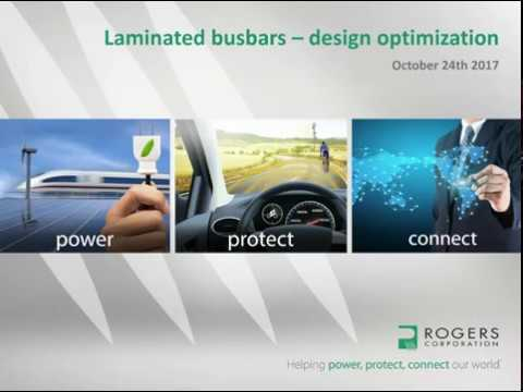 Laminated Busbars – Design Optimization