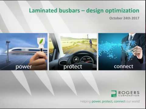 Laminated Busbars – Design Optimization