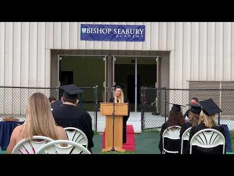 Faith Hedges 2020 Valedictorian Speech Bishop Seabury Academy Lawrence Kansas