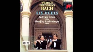 W.F. Bach Duets for Flute and Oboe