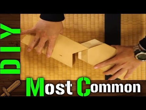 DIY The most common wood joints in Japanese architecture - How to ?
