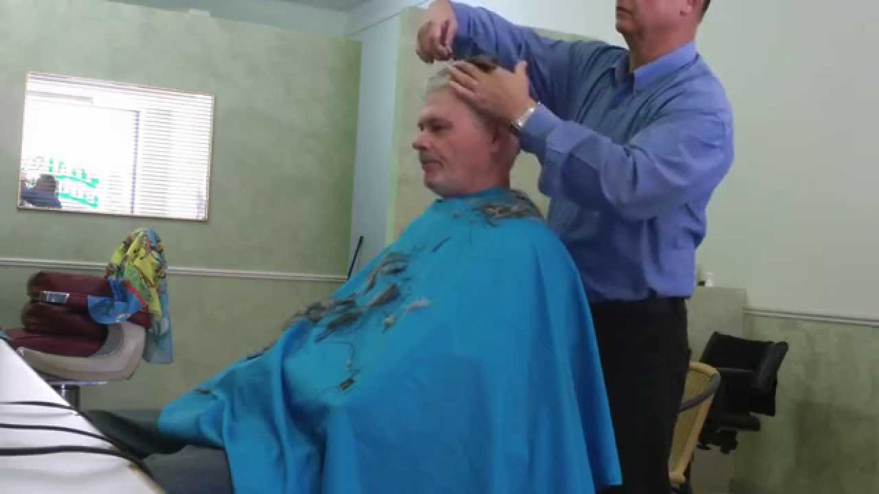 Gs Creator Of Harry Potter Gets A Haircut Video 0004 Youtube