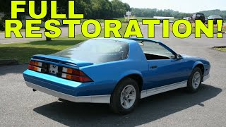 Classic Camaro Restoration (1988 camaro)