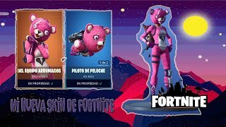 Fortnite - My new Loving Bear Skin and Trying to level up