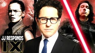 JJ Abrams Responds Star Wars Episode 9 & More! (Star Wars News)