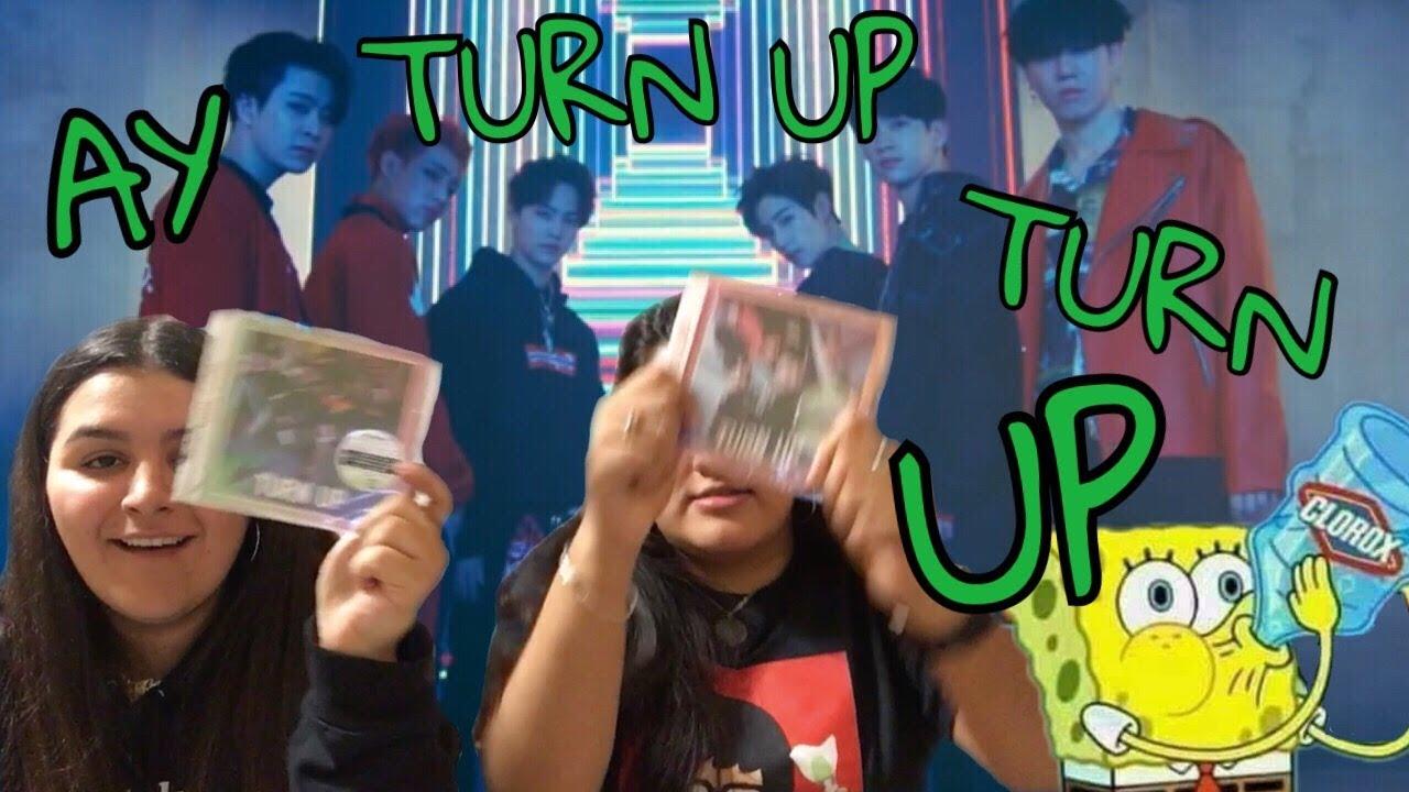GOT7 TURN UP ALBUM UNBOXING + JJP VERSE #2 UNBOXING