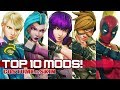 TOP 10 CAMMY MODS in Street FighteR V:AE!