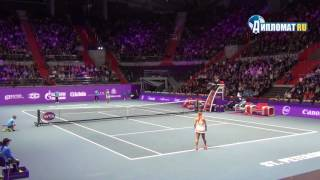 St.Petersburg Ladies Trophy 2017. Финал. Младенович - Путинцева
