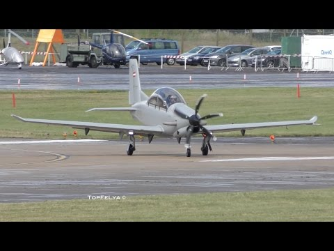 Diamond Aircraft DART-450 World Premiere at Farnborough Airshow 2016
