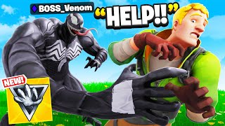 I Pretended To Be BOSS Venom In Fortnite