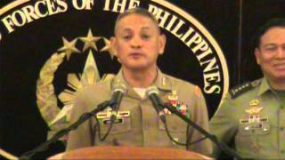 LTGEN RUSTICO GUERRERO WE WILL NOT LEAVE AYUNGIN SHOAL!