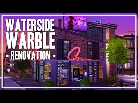 [Renovation] Waterside Warble Karaoke Bar - The Sims 4 Speed Build