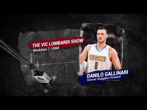 Nuggets forward Danilo Gallinari joins The Vic Lombardi Show