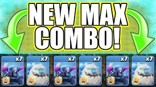 NEW TROOP COMBO.....LAST EVER MAX TROOP! - Clash Of Clans