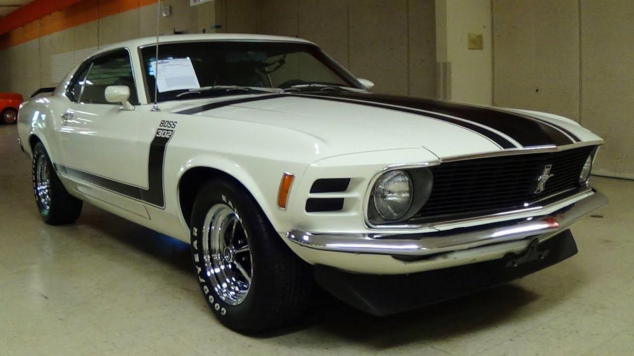 1970 ford mustang boss 302 nicely restored true original boss 302