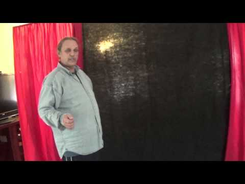 How to make your own Stage backdrop!